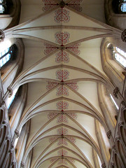 Somerset - Wells Cathedral (pefkosmad) Tags: cathedral interior wells somerset wellscathedral ceiling nave vault