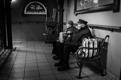 The old couple (StreetPeople) Tags: street portrait blackandwhite bw monochrome photography blackwhite europe moments hungary candid budapest streetphotography documentary streetphoto unposed blacknwhite bnw locations streetpeople tog decisivemoment streetcandid ungern streetbw streetphotographybw bestcamera streetphotobw streetog worldstreetphotography streetbnw streetphotographybnw streetphotobnw danieleliasson
