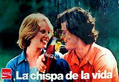 """Coca Cola. """"La chispa de la vida"""". Años 80"""