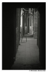 Venedig07 (! . Michael Schultes . !) Tags: italien workshop schwarzweiss venezia venedig gasse fotokurs fotoreise