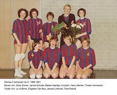 1980-1981 Dames 2