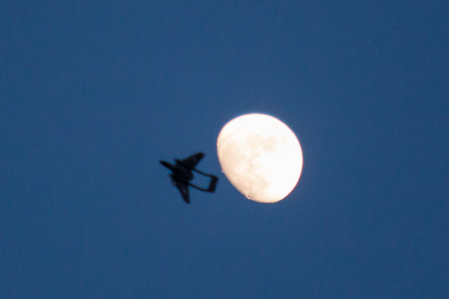 Phil's Sea Vixen attempting to bring St Angelo MFC to the moon!