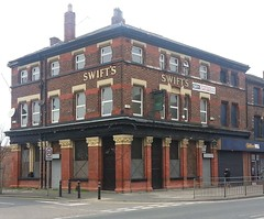 "Swifts, Bootle, Merseyside • <a style=""font-size:0.8em;"" href=""http://www.flickr.com/photos/9840291@N03/13136649335/"" target=""_blank"">View on Flickr</a>"