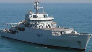 英海军勘测船开始MH370搜寻工作