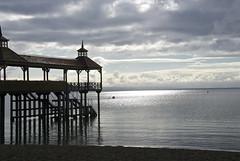 Frutillar...Chile (setoboonhong) Tags: chile travel sunlight lake water reflections pier los sand lagos frutillar llanquihue
