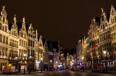 Grote Markt Antwerpen (Stijn Daniels) Tags: grote markt grotemarkt antwerpen antwerp houses night city longexposure canon rebel 600d