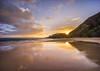 Big Bad Beach (tristanotierney) Tags: beach bigbeach clouds hawaii maui ocean reflection reflections seascape sunset sunsets tropics