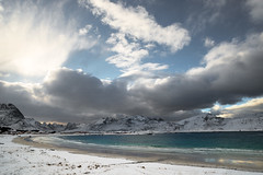 Forever in my dreams (OR_U) Tags: 2017 oru norway lofoten ramstad rambergstranda beach coast mountains sea snow ice waves clouds weather emptiness chrisrea bliss