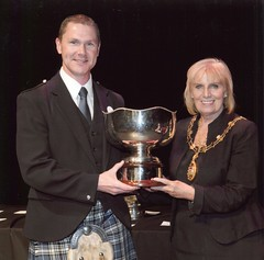 Neil Walker Winner of the MSR A Northern Meeting Piping Competitions 2016
