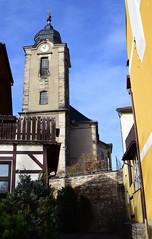 Christuskirche church and townwall (:Linda:) Tags: germany thuringia town hildburghausen townwall christuskirche church