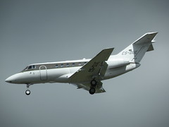 HAWKER 750 CS-DUE (BIKEPILOT) Tags: airport aircraft aviation aeroplane farnborough airfield aerodrome eglf csdue hawker750