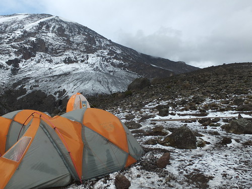 Karanga Camp on Kilimanjaro