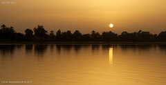 Sundown in the Nile