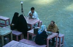 Isfahan - Rest (sharko333) Tags: street portrait woman man analog iran muslim islam 1996 persia esfahan waterpipe hookah isfahan hooka persien
