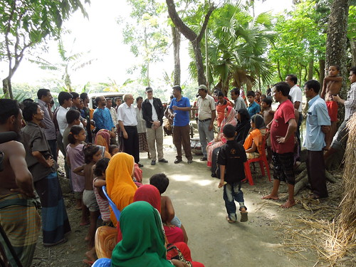 Sharing success story in Barisal, Bangladesh. Photo by Shidhartha Sankar Bhowmick, 2013.