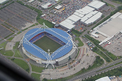 Reebok Stadium (QSY on-route) Tags: stadium bolton microlight reebok ikarus c42 gtifg 16062013