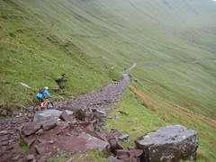 A long way down (neil.finnes) Tags: dorset rough brecon beacons riders