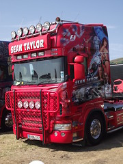 Sean Taylor Scania Topline BX06 ZFZ (5asideHero) Tags: west south sean taylor scania truckfest topline 2013 bx06 zfz