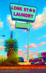 Lone Star Laundry (Ken's Aviation) Tags: texas laundry elpaso lonestar leroyneiman