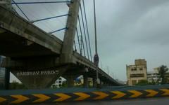 Andheri Ghatkopar Metro bridge on WE Highway (akshaypatil™ ® photography) Tags: india station work project highway metro progress western maharashtra express mumbai andheri weh versova cablestayedbridge ghatkopar mmrda mumbaimetro mumbaimetrostation