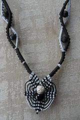 girocollo Michele (patty macramè) Tags: collier bijoux macrame pizzo gioielli margarete macramè margaretenspitze