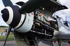 D-FWME 2013-08 Luftwaffe DB605 Rke (Danner Poulsen) Tags: germany nose fighter wwii engine db airshow ww2 motor roskilde warbird spinner 109 bf109 reconstruction jg 605 messerschmitt luftwaffe me109 danner daimlerbenz jäger rke 2013 næse bf109g dfwme db605 willymesserschmitt roskildeairshow bf109g4 20130817 roskildeairshow2013 oneonine