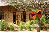 Dakshinchitra (archonline) Tags: wall umbrella brickwall chennai dakshinchitra
