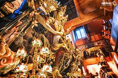 GuanYin @ Yong Fu Temple III (Hangzhou) (Andy Brandl (PhotonMix)) Tags: china temple gold shrine interiors buddha details rich buddhism illuminated altar processing hangzhou lamps decorated zhejiang guanyin interiorarchitecture sittingbuddha religioussite yongfumonastery photonmix
