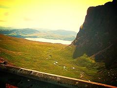 Pass of the Cattle Road (Bealach), Applecross, Scotland, UK. (trebrandicoot (Lynn)) Tags: road mountains water scotland scenery cattle pass windy course sharp journey worn turns epic lochs applecross