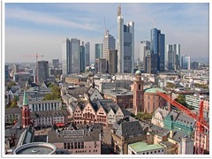 Frankfurt am Main - old and new town