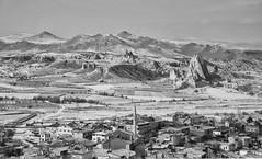 Cappadocia Anatolia (ferdak) Tags: bw canon turkey landscape eos rebel cappadocia anatolia xti