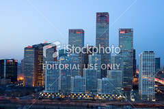 istock-photo-24935550-beijing-central-business-district-skyline-by-night (ispyfreindnew) Tags: china road city bridge light sunset red sky motion reflection tower skyline architecture night facade skyscraper dark highway asia cityscape purple traffic dusk contemporary beijing officebuilding illuminated financialdistrict business publicbuilding transportation tall copyspace investment guomao futuristic scenics chaoyang blurredmotion urbanscene capitalcitie