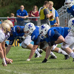 """<b>Homecoming Football 2013, Luther vs. Loras</b><br/> The Luther Football team dominated against Loras, winning 41-7 on Saturday, October 5, 2013. Photography by Jaimie Rasmussen<a href=""""http://farm4.static.flickr.com/3743/10128008113_bc9023c760_o.jpg"""" title=""""High res"""">∝</a>"""