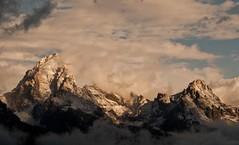 Grand Teton and Teewinot Sunrise (Jeff Bernhard) Tags: snow jackson wyoming teton grandteton jacksonhole grandtetonnationalpark gtnp
