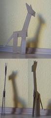 cardboard (iumyko) Tags: giraffe cardboardgiraffe yearofthegiraffe