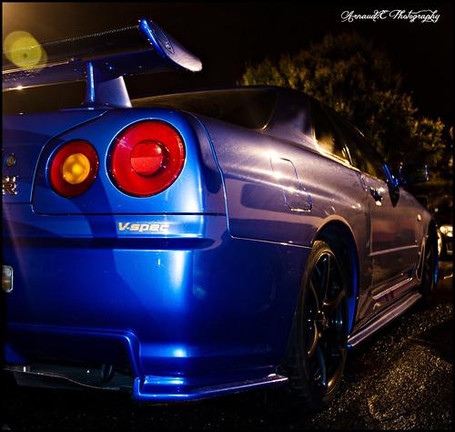 Nissan Skyline R34 Gtr V Spec Gtr Night 25102013 A Photo On