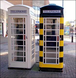 Bee Lady Phone Box ..