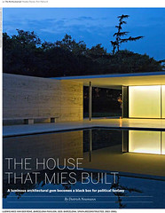 """The House That Mies Built"" (@archphotographr) Tags: published article miesvanderrohe mies publication barcelonapavilion berlinjournal americanacademyinberlin hassanbagheri hbarchitectural dietrichneumann"