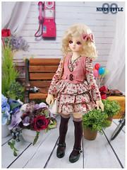 [Nine9style] volks msd ken (Nine9 Style) Tags: dress antique country ken casual bjd vest volks msd loveliness girlclothes nine9 nine9style