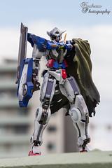 Exia Repair (Finchzero) Tags: anime metal toy photography robot repair figure figurine build gundam product mecha collectable bandai exia