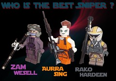 Who is the best Sniper ? (OB1 KnoB) Tags: 2 star 1 is lego lets who mini best galaxy sing sniper hunter wars minifig custom figurine clone vote bounty aura episode comments tpm zam comment opinion episode1 obiwan kenobi minifigure rako wesell episode2 aurra aotc theclonewars hardeen