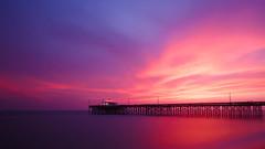 Newport Beach (Brian Kim Studio) Tags: california beach landscape la unitedstates newportbeach 10stops vision:sunset=0755 vision:outdoor=067 vision:sky=0947 vision:clouds=0845