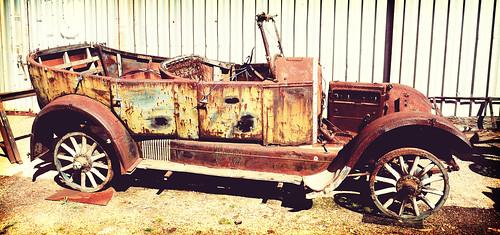 Jarr Dee Mill Old Car