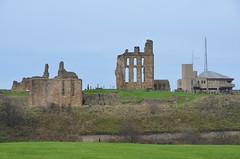 Tynemouth (scuba_dooba) Tags: sea england castle pen mouth river coast pier town north tyne historic wear coastal borough coastline benedictine tynemouth priory bal crag