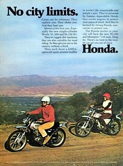 1972 Honda XL-250 & SL-125 (Rickster G) Tags: pictures classic vintage honda ads photo flyer image photos picture motorcycles literature oldschool sl trail photographs 350 photograph motorcycle 70s dirtbike collectible sales brochure rare xl 250 thumper motorsport enduro dealer 185 125 xl250 twinshock vjm vinduro sl125