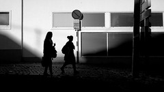 V (_Bruno_Ribeiro_) Tags: street light shadow blackandwhite bw portugal project mono europe streetphotography documentary bruno ribeiro pretoebranco bnw iphone bwstreetphotography brunoribeiro sinched iphoneography
