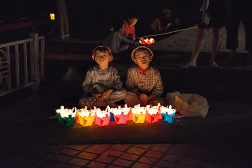 Street lanterns in Hoi An