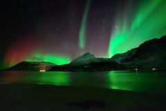 Aurora in Grøtfjord (John A.Hemmingsen) Tags: longexposure night landscape aurora nordnorge northernlights auroraborealis tromsø troms 14mm grøtfjord samyang arcticlight nikond600