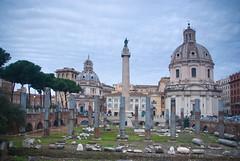Roma: Columna de Trajano (Iigo Fdz de Pinedo) Tags: roma italia imperioromano columnadetrajano monumentoromano