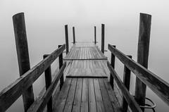 Core Creek Park (Ciril Mathew) Tags: blackandwhite bw philadelphia fog pier parks pa bucks buckscounty pennslyvania neshaminy trevose bensalem corecreek